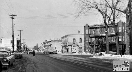 Chemin de la Canardière. 1958.