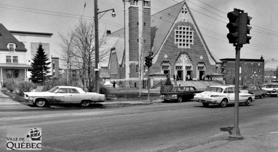 Limoilou dans les années 1960 (94) : église Saint-Pascal - Jean Cazes