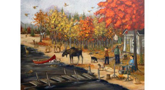 Exposition peinture – La rivière du bonheur