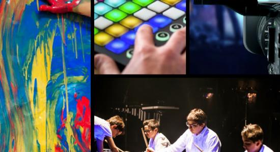 REPORTÉ – Ateliers de création artistique : Espace Projet
