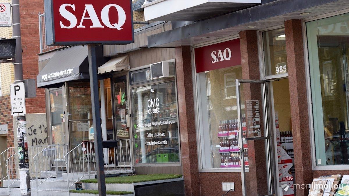 Déménagement temporaire de la SAQ 3e Avenue | 25 avril 2018 | Article par Viviane Asselin