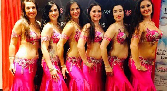 La troupe Mirage Élite en compétition à New York - Viviane Asselin