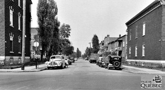 Limoilou dans les années 1950 (41) : 9e Rue - Jean Cazes