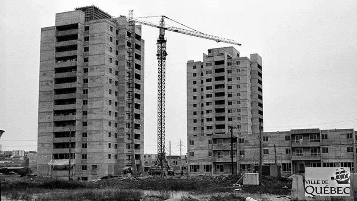 Limoilou dans les années 1970 (29) : les tours qui ont changé le visage de Maizerets | 14 juillet 2018 | Article par Jean Cazes