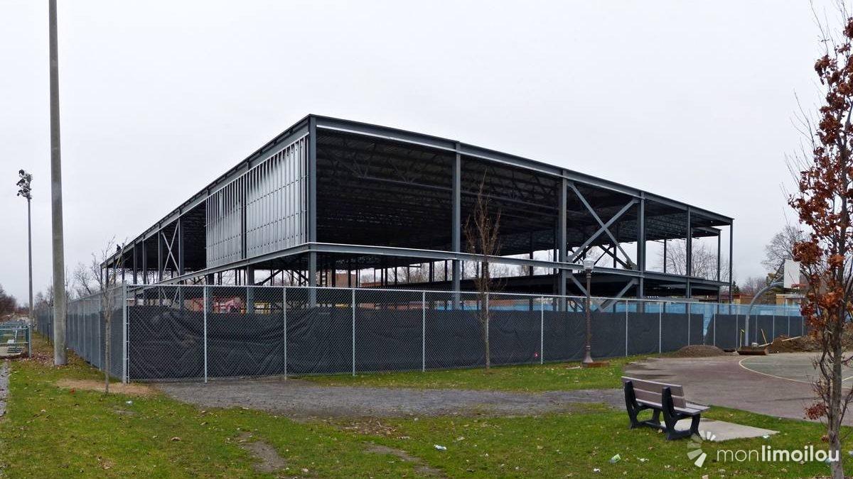 Nouveau centre Mgr-Marcoux au parc Bardy: évolution des travaux | 3 mai 2018 | Article par Jean Cazes