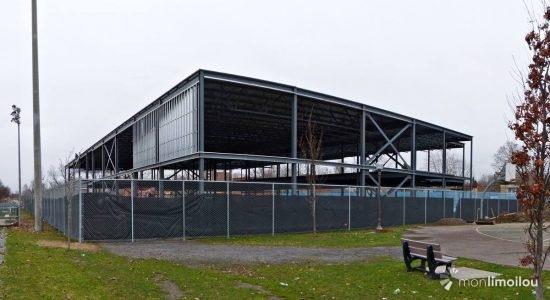 Nouveau centre Mgr-Marcoux au parc Bardy: évolution des travaux - Jean Cazes