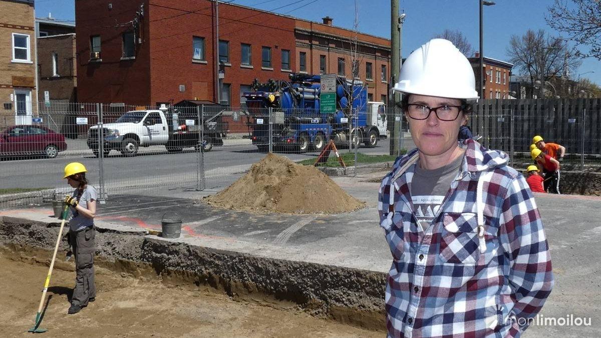 Allison Bain, professeure coresponsable du chantier-école