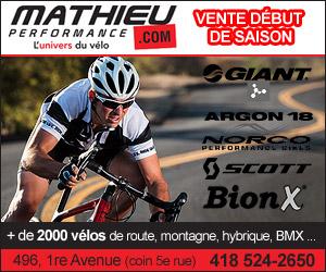Vente début de saison de vélo | Mathieu Performance