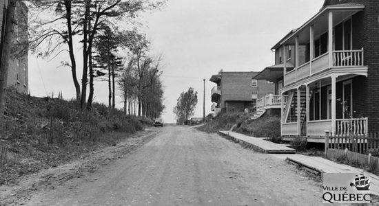 Limoilou dans les années 1940 (34) : avenue De Vitré - Jean Cazes
