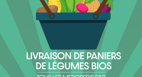 Livraison de paniers de légumes bios