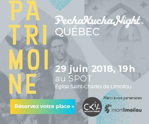 Soirée PechaKucha Québec