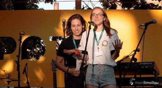 Gabrielle Tessier et Isabelle Jobin, coordonnatrices de SPOT 2018.