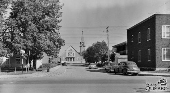 Limoilou dans les années 1950 (42): église Saint-Albert-le-Grand - Jean Cazes
