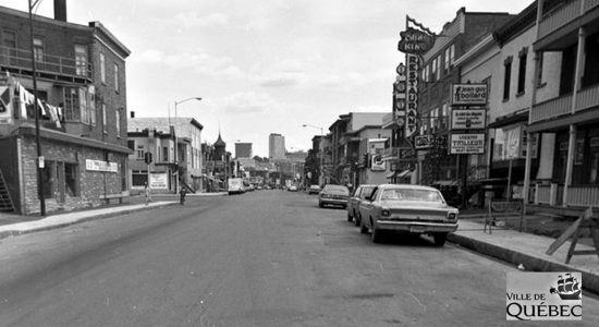 Limoilou dans les années 1970 (33): la 3e Avenue et son China King - Jean Cazes