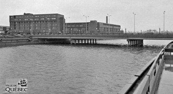 Limoilou dans les années 1970 (32) : le pont Drouin à l'époque du béton - Jean Cazes