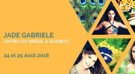 Ateliers: Danses brésiliennes à Québec avec Jade Gabriele au Studio Danse Mirage les 24 et 25 août