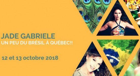 Ateliers: Danses brésiliennes à Québec avec Jade Gabriele au Studio Danse Mirage les 12 et 13 octobre