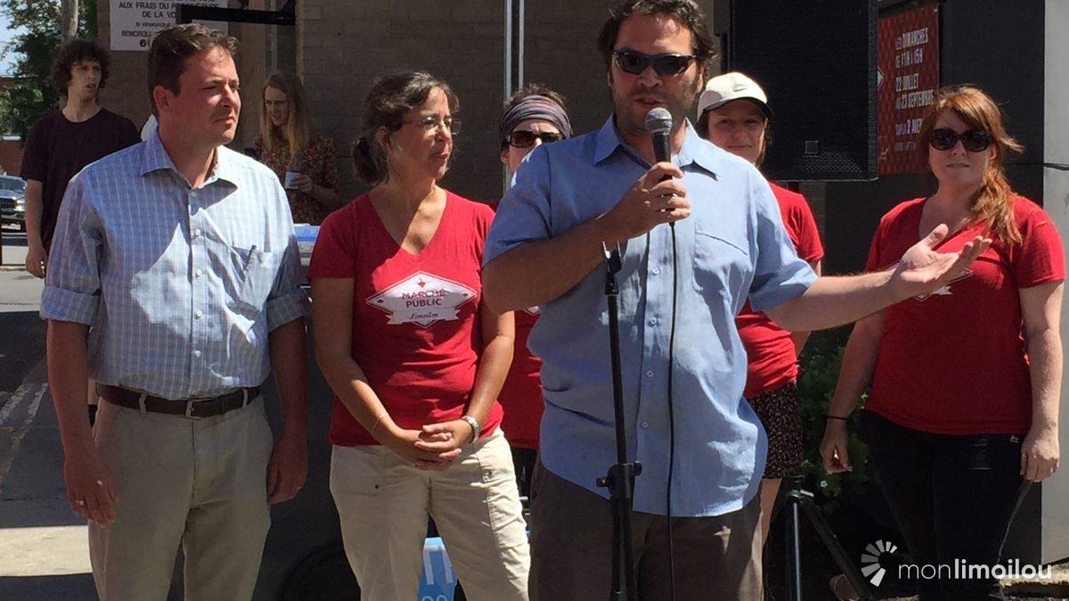 Marché public de Limoilou : entre légumes et fruits, la solidarité | 22 juillet 2018 | Article par Caroline Roy-Blais