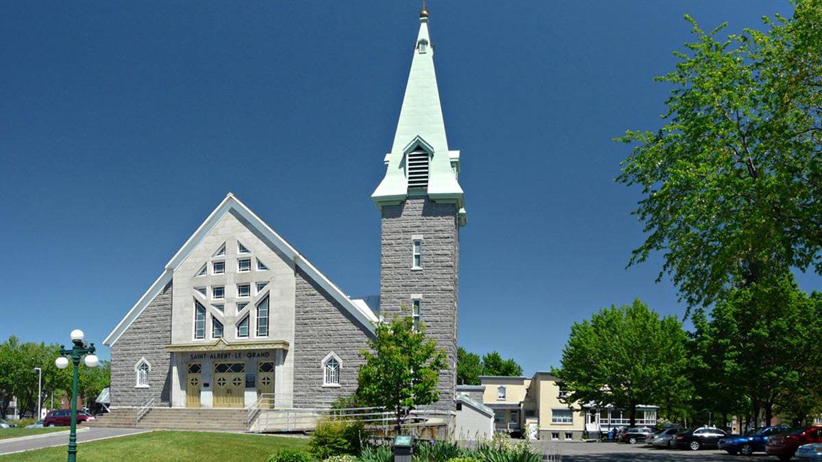 L'église Saint-Albert-le-Grand en 2010.