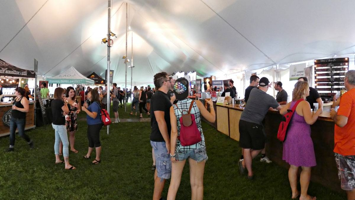 Festival des brasseurs et des artisans de Québec: un weekend de dégustations! | 24 août 2018 | Article par Jean Cazes