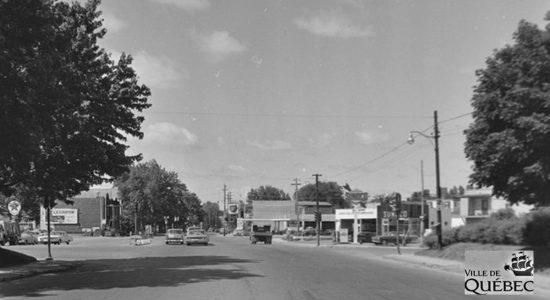 Limoilou dans les années 1960 (98) : intersection de la 18e Rue et de la 3e Avenue - Jean Cazes