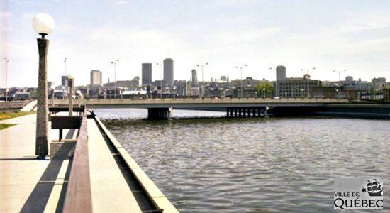 Rivière Saint-Charles. 1980.
