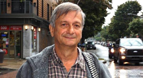 Claude Moreau, candidat du Parti marxiste-léniniste du Québec dans Jean-Lesage - Baptiste Piguet