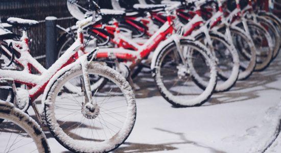 Se préparer pour le vélo d'hiver