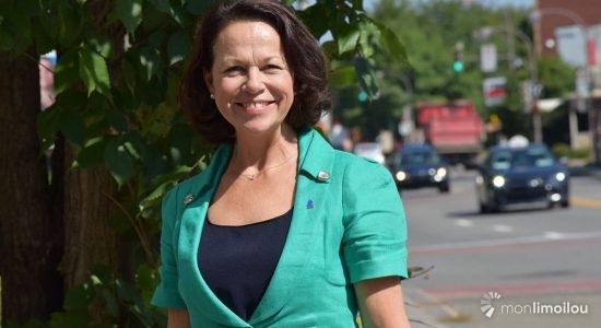 Gertrude Bourdon, candidate pour le Parti libéral du Québec dans Jean-Lesage - Baptiste Piguet