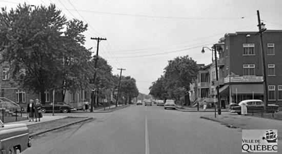 Limoilou dans les années 1950 (43) : 4e Avenue - Jean Cazes