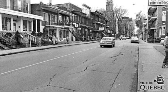 Limoilou dans les années 1980 (18) : 1re Avenue - Jean Cazes