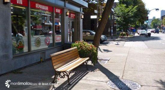 En 2016, le retrait de bancs publics sur la 3e Avenue - sous prétexte que des commerçants s'étaient plaints du comportement de certains usagers - avait semé la controverse, si bien que le mobilier était vite réapparu. Pour Suzanne Verreault, c'est là un exemple parlant que Limoilou demeure un quartier inclusif.