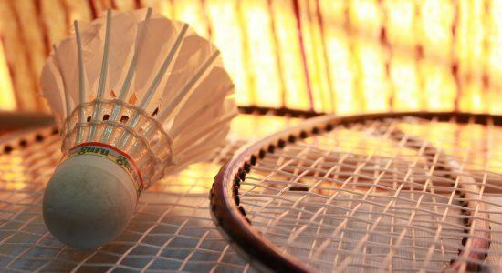 Badminton parent-enfant