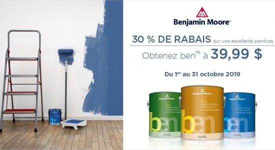 Promotion peinture ben | Rona – Quincaillerie Limoilou