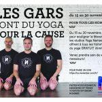Movember : yoga gratuit pour les gars! - Namaste Yoga Limoilou