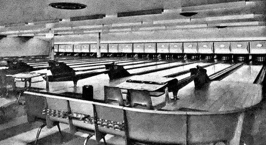 Limoilou dans les années 1960 (106) : le salon de quilles Vallières - Jean Cazes