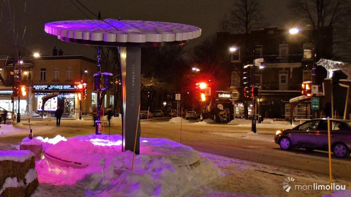 La place Limouloise embrase l'hiver… et embrasse le Nouvel An | 18 décembre 2018 | Article par Suzie Genest