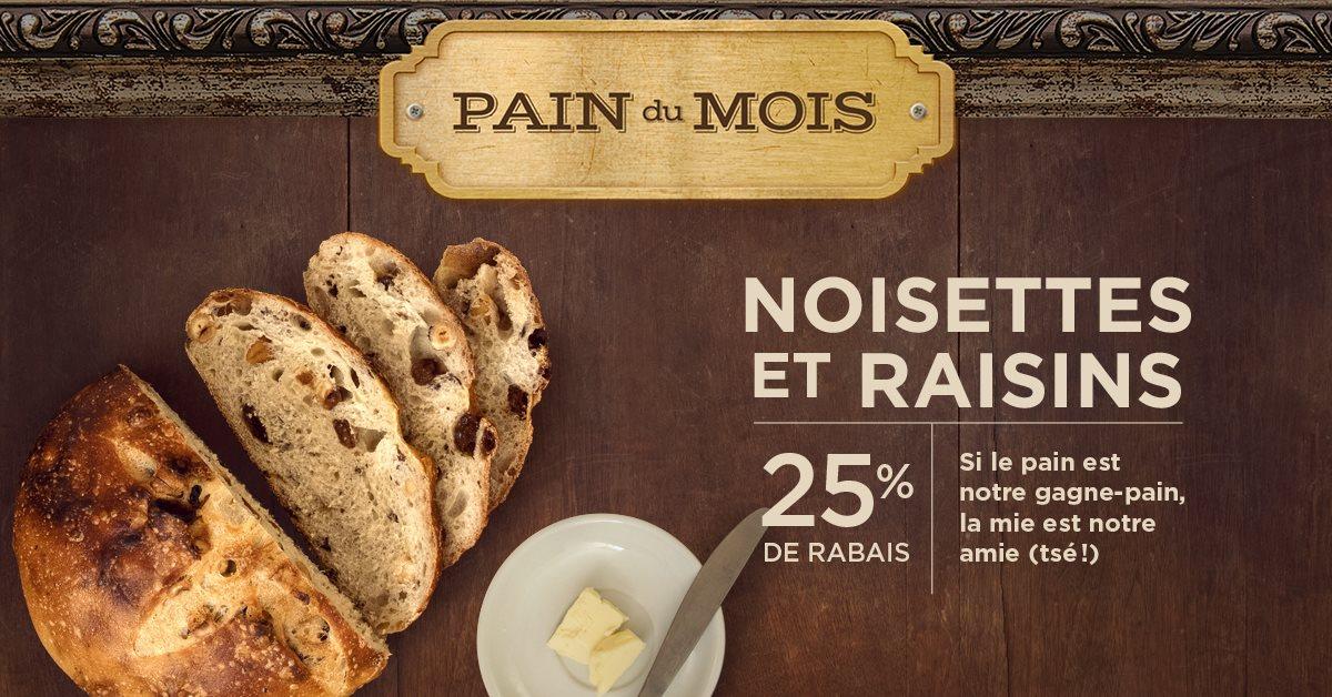 Pain du mois   Boîte à Pain – Café Napoli