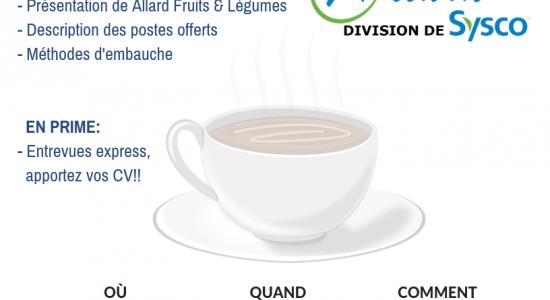 Café-emploi – Allard Fruits & Légumes