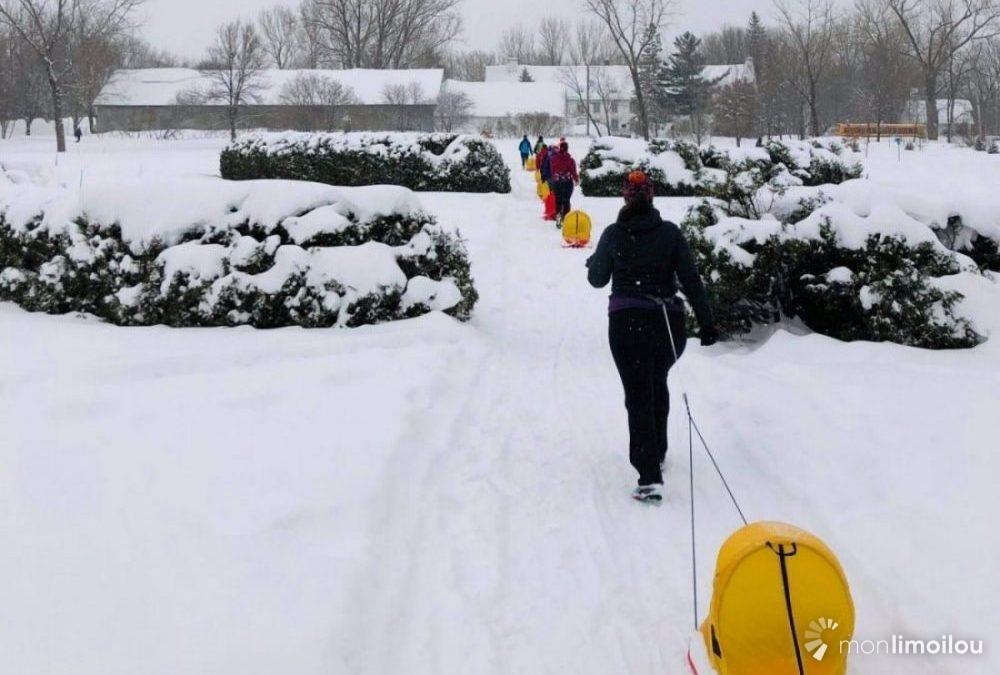 Cardio-traîneauà Limoilou: envoye maman, va jouer dehors! | 16 mars 2019 | Article par Laurence Déry