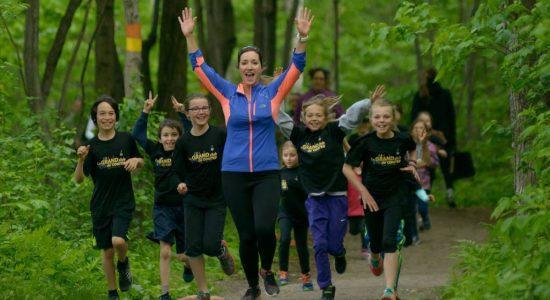 De la course pour les «lapins» de 5 à 15 ans - Véronique Demers