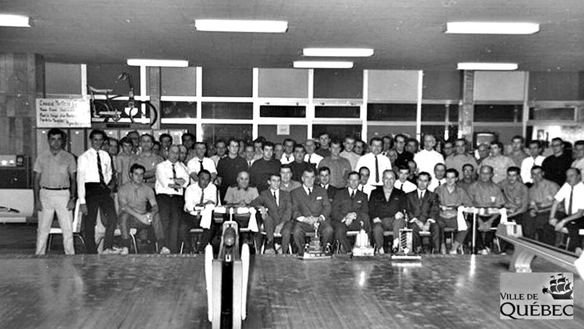 Salon de quilles Vallières,11 novembre 1968