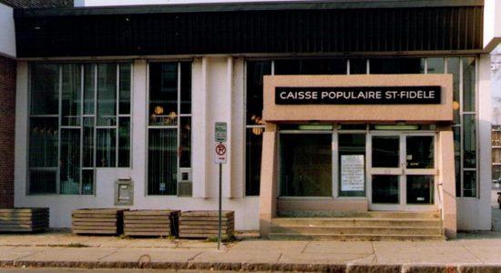 Limoilou dans les années 1960 (109) : Caisse Desjardins Saint-Fidèle - Jean Cazes