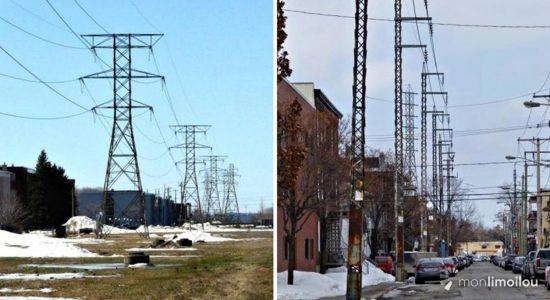 Dix ans de grands chantiers (7) : la disparition des structures aériennes d'Hydro-Québec - Jean Cazes