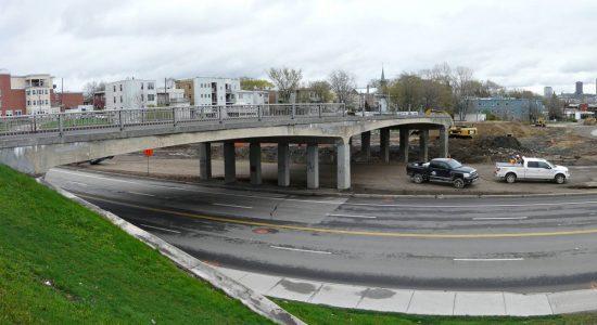 Étape des travaux en date du 11 mai 2012.