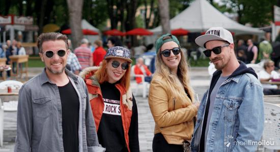 Ouverture du Grand Marché de Québec et du BBQ Fest à la place Jean-Béliveau - Léa Fischer-Albert