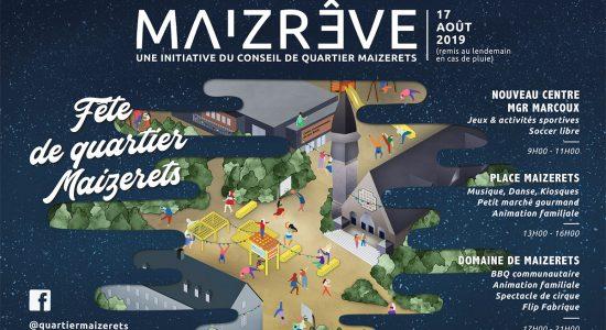 MaizRÊVE – Fête de quartier Maizerets