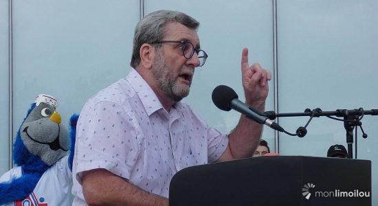 Le maire Régis Labeaume.