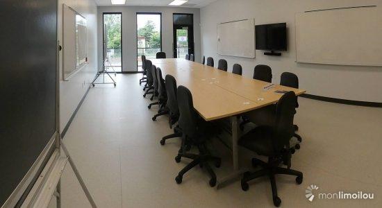 Salle de cours et d'ateliers