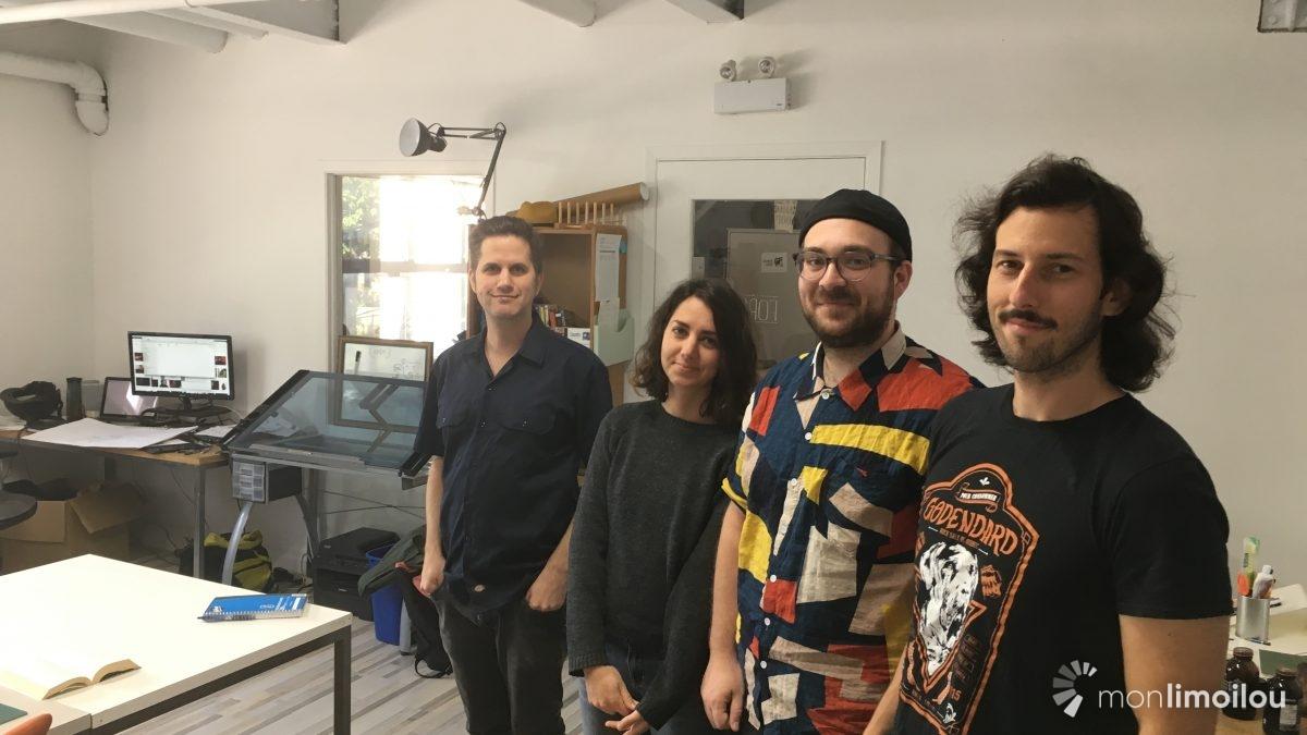 La Forge : un atelier BD en plein cœur de Limoilou | 5 novembre 2019 | Article par Raymond Poirier